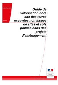 Guide valorisation terres excavées non issues SSP
